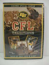 CFL Traditions Edmonton Eskimos Grey Cups & Glory New Sealed Football DVD