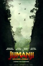 JUMANJI WELCOME TO THE JUNGLE MOVIE POSTER DS ORIGINAL 27x40 DWAYNE JOHNSON