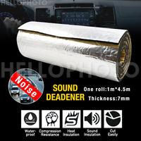1M x 4.5M Sound Deadener Heat Proof Insulation Noise Proofing self-adhesive Foam