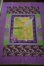 Tinkerbell Single Bed Quilt - handmade