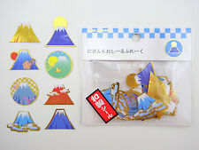 Japanese Mt. Fuji sticker flakes! Japan Mount Fujisan, Mountain, Japan culture