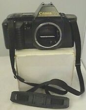 Canon T70 SLR 35mm Film Camera Body & Strap ONLY ~Made in Japan -Tested  A46