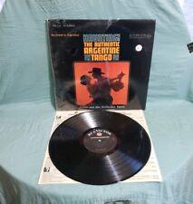 """Troilo """"Haunting! The Authentic Argentine Tango"""" LP FSP 118 Rare*"""