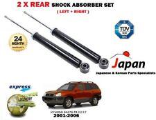 Para Hyundai Santa Fe 2.0 2.2 2.4 2.7 2001-2006 2x Amortiguador Trasero Shockers