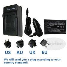 4AA Battery+AC//DC Charger Fujifilm FinePix AV100 AV105