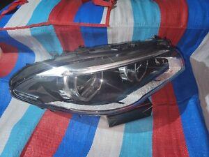 BMW 5 SERIES F10 LCI HEADLIGHT LED ADAPTIVE LEFT 63117352485 OEM 2014 2015 2016