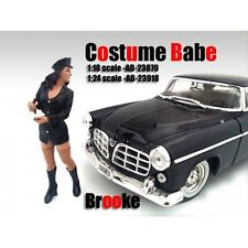 COSTUME BABE BROOKE FIGURE FOR 1:24 SCALE MODELS BY AMERICAN DIORAMA 23918