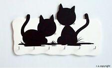 "Schlüsselbrett - ""Katzen"""