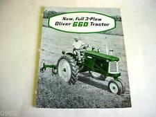 Oliver 660 Tractor Sales Brochure                                 b3