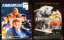 DVD FANTASTIC FOUR 1 & 2 RISE OF SILVER SURFER POWER COSMIC EDITION NEW