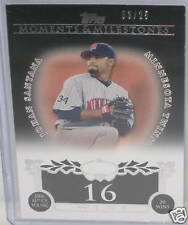 Johan Santana  LIMITED CARD # 3 / 25  Twins  08 Topps