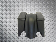 "'89 -'13 Harley 4"" Stretched Saddle Bags & Fender Set with Dual Cut Outs"