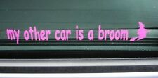 My Other Car is a Broom , Funny Harry Potter Wizard Witch Joke Mini VW Ford Fiat