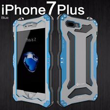R-JUST Waterproof Armor Metal Aluminum Defences Cover Case For iPhone 5 6 7 Plus