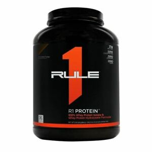 Rule 1 Protein R1 Whey Isolate 38 Servings or 76 servings - Pick Size and Flavor