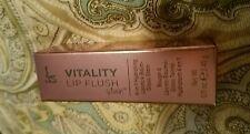 IT COSMETICS Vitality Lip Flush Stain 4 in 1 Hydrating Je Ne Sais Quoi Lipstick