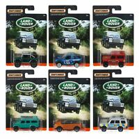 Land Rover Diecast Metal Matchbox Vehicles Collectible Cars Discovery Freelander