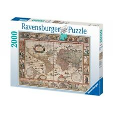 Ravensburger Map of World From 1650 Puzzle 2000 pc