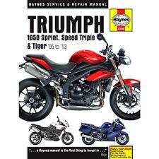 Haynes Service & Repair Manual (4796) Triumph 1050 Sprinit St Speed Triple