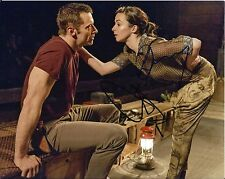 Hugh Jackman & Laura Donnelly signed The River 8x10 Photo - Wolverine