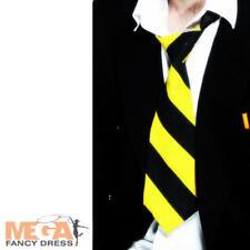 Escuela tie ladies/mens Boy/girl uniforme Fancy Dress Costume St Trinians Acc Nuevos