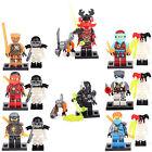 16 Minifigures Ninja Ninjago Jay Cole Kai Zane Nya GARMADON Building Bricks lEGO
