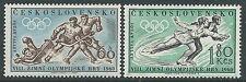 1960 CECOSLOVACCHIA OLIMPIADI INVERNALI A SQUAW VALLEY MH * - CZ2