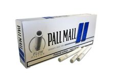PALL MALL Blue Empty Cigarette Filter Tubes King Size 5 Boxes of 100 (500ct.)