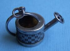 Vintage watering can sterling charm