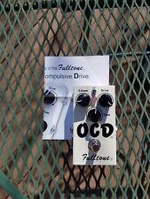 Fulltone Obsessive Compulsive Drive Overdrive OCD