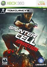 Splinter Cell Conviction Xbox 360 Game Complete
