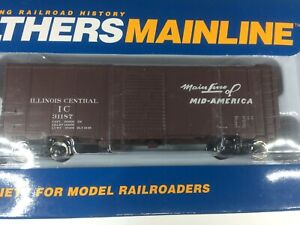 Walthers 910-1758 40' AAR 1948 Boxcar Illinois Central #31187