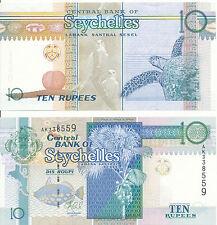 Seychellen / Seychelles - 10 Rupees 2013 UNC - Pick 36