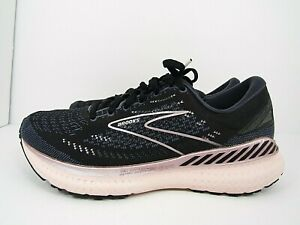 WOMEN'S BROOKS GLYCERIN 19 size 8.5 (D) WIDE  I!WORN AROUND 10 MILES! RUNNING !