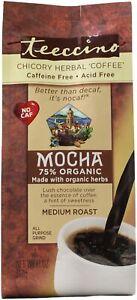 Mocha Chicory Herbal Coffee by Teeccino, 11 oz