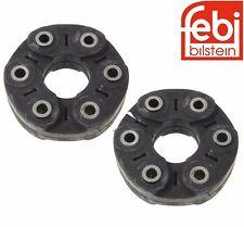 For BMW F07 F06 F10 F12 Pair Set of Rear Forward & Rearward Driveshaft Flex Disc