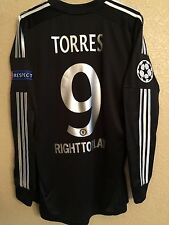 England Chelsea Torres Atletico Player Issue Formotion Football Shirt Jersey
