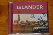 ISLANDER SIGNED CD MIKEY CARVAJAL VIOLENCE AND DESTRUCTION KORN PAPA ROACH POD!