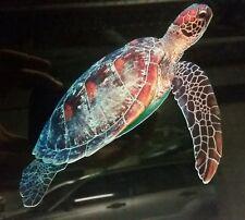 Turtle Great barrier Reef Vinyl Car Sticker 150x110mm aussie made and designed