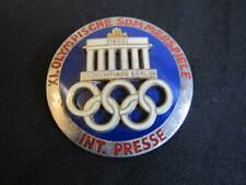 Olympic Games International Press Badge