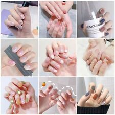 3D Nail Art Lace Stickers Decals Transfers Lace Strips Decoration Gel 14x usyn