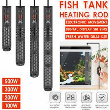 100W-500W Aquarium Submersible Fish Tank LED Digital Adjustable Water Heater OZ