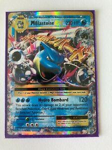 Pokemon TCG Evolutions Mega Blastoise EX 22/108 Ultra Rare Holo Card