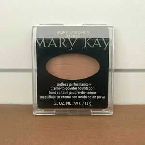 Mary Kay Endless Performance Crème-to-Powder Foundation IVORY 5 - Full Size