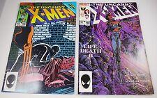 X-MEN #196,198  BARRY SMITH  9.2