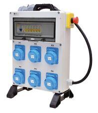 QUADRO ELETTRICO DA CANTIERE -n.6 prese Monofase16A-6KW 230V.+Emergenza - IP67