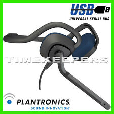 Plantronics Audio 648 DSP USB Gaming Skype Headset Headphone PC Mac Xbox 360 PS3