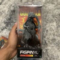 "FiGPin Godzilla x39 6"" XL TOHO Licensed King of the Monsters Enamel Pin IN HAND"