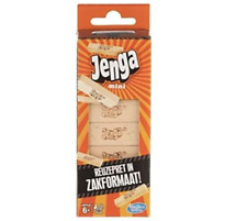 Jenga Hasbro Mini 18 blocks - ideal for traveling