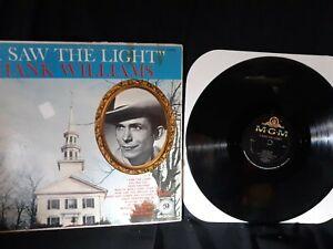 "Hank Williams ""I Saw The Light"" vinyl LP MGM Records E3331 1960"